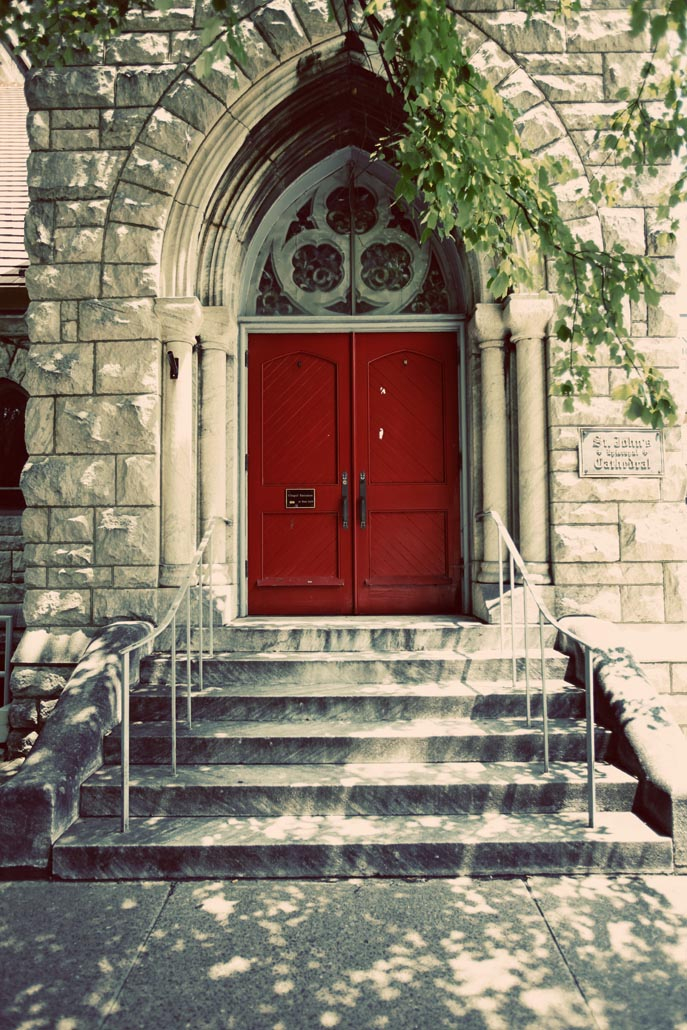 Church Red Door